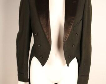 Formal Tailcoat Tuxedo Jacket from the 1910s