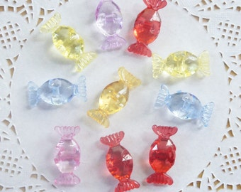 Crystal Sweetie Buttons (10pcs)