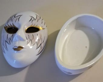 Venetian Mask Trinket Box