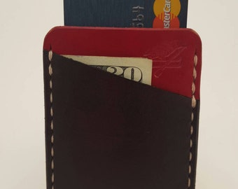 "Leather Card Sleeve Wallet ""The Slim"""
