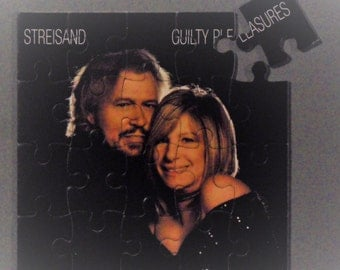 Barbra Striesand CD Cover Magnetic Puzzle