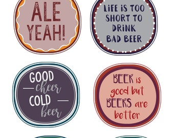Beer Gift Tag / Printable