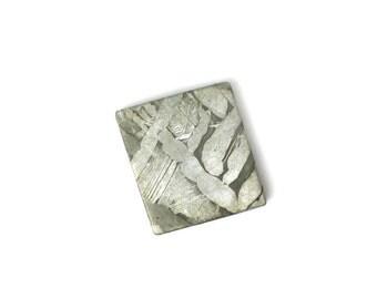 Stunning Seymchan Meteorite Piece - 17.41 x 15.71 mm