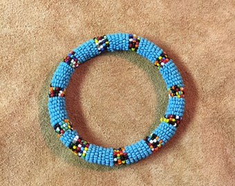 Native Style Seed Bead Bracelet