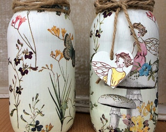 Fairy Decorative Glass Jar