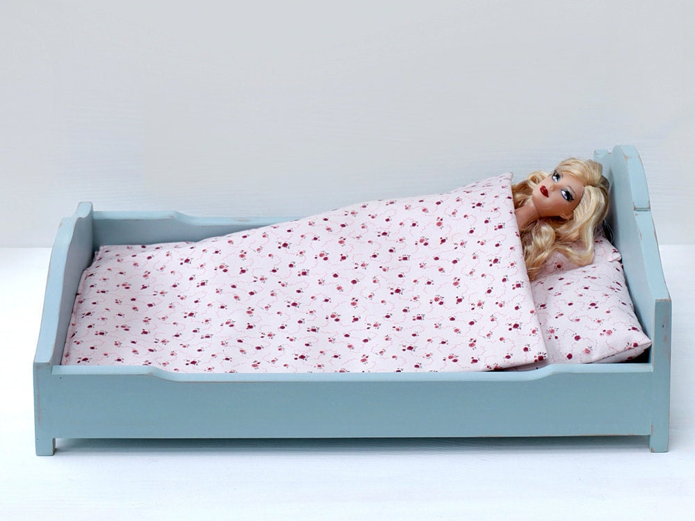 Wooden Handmade Baby Doll Bed Doll Furniture Doll Bed For