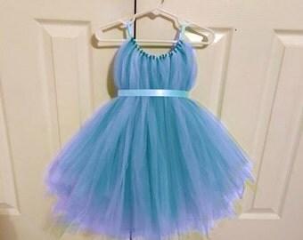 Fairy Costume - Blue Tulle Dress