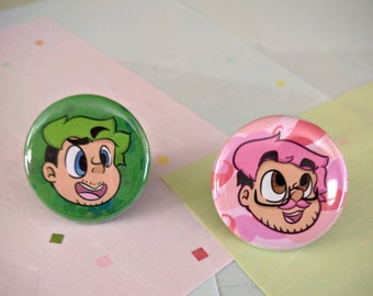 Markiplier and Jacksepticeye Pins!