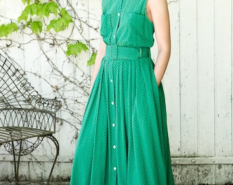 "STUNNING FRENCH ""Infinitif"" brand vintage dress ! 80's/90's"