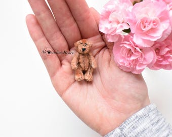 Handmade Miniature Teddy Bear