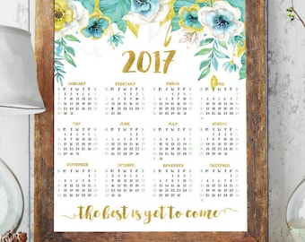 Office calendar | Etsy