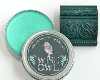 Wise Owl Patina Wax 4oz