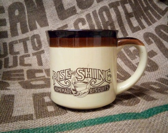 Hardee's Rise and Shine Homemade Biscuits Coffee Cup