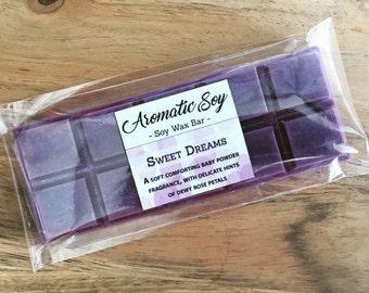 Sweet Dreams Soy Wax Melt Bar Handmade