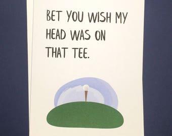 Funny Fathers Day Card, Fathers Day Card Funny, Fathers Day Golf, Fathers Day Golf Gift, Funny Fathers Day Gift, Golf Gifts, Golf