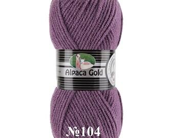 Madame Tricote ALPACA GOLD winter yarn hand knit yarn alpaca wool color choice wool yarn alpaca yarn for knitting bulky yarn soft yarn