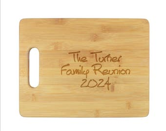Personalized Cutting Board, Custom, Kitchen, Bar, Gift