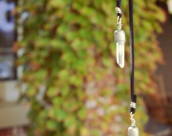 Crystal Visions Short Lariat Necklace