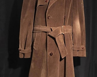 Long coat style trench coat