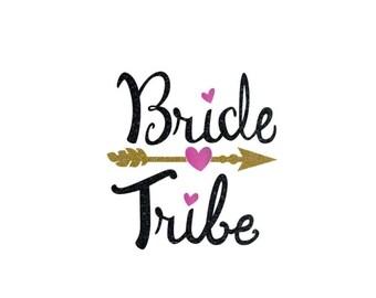 Bride Tribe shirt, Bridesmaid Iron on, Bride Tribe iron on, Bridesmaid shirts, Wedding shirts