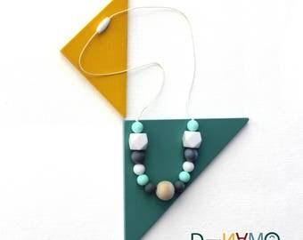 Teething necklace for mom / Teething Necklace for Babies / Mom necklace / Nursing necklace / Teething toy / breastfeeding