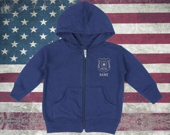 Baby Police Zip-Up Hoodies