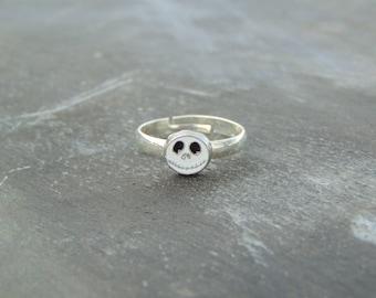 The Nightmare Before Christmas Jack Skellington Skull Ring