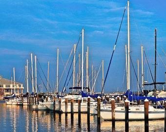 Sundown, Pass Christian harbor