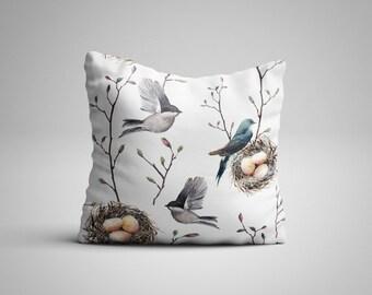 Nesting Birds Cushion.