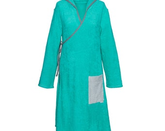 Terry Lake green wrap dress for ladies
