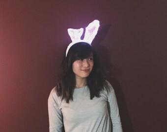 LED Light Up Bunny Ear Headband