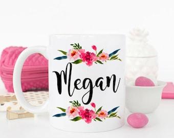 Personalized Name Mug, Bridal Party Gift, Personalized Mug, Bridesmaid Gift, Custom Mug, Personalized Gift, Bridesmaid Mug, Gift for Friend