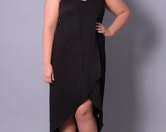 Plus Size Layered Cami Dress - Sizes 0X - 3X