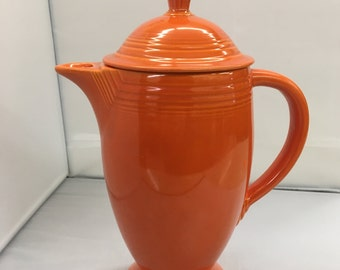 Red Fiesta Coffee Pot