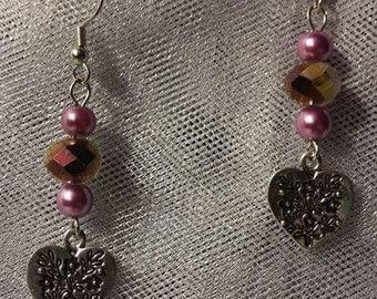 Multiple dangle earrings