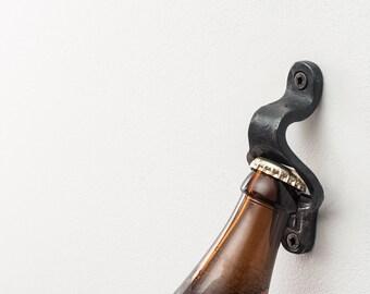 Bottle opener (wall mount)