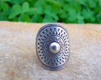 Sterling Silver Ring. Silver Jewelry. Ethnic ring. Ethnic Jewelry. Silver Ring. Silver jewellery. Ethnic ring. Ethnic jewellery.