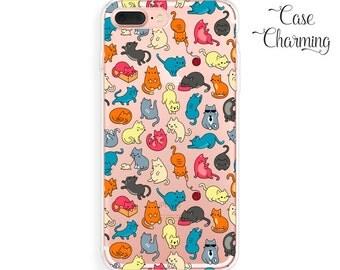 iPhone 7 Plus Case Cat iPhone 7 Case iPhone 6s Plus Case iPhone 6s Case iPhone 6 Plus Case iPhone 6 Case Cat Phone Case Clear iPhone SE Case