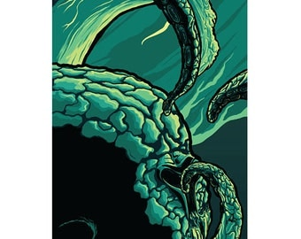 Release the Kraken High quality print.