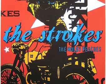 The Strokes – The Strokes Concert Poster - The Strokes Art – The Strokes Poster – The Strokes Print – Rock and Roll - 11x17 (JS00815)