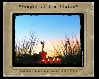 Keeper of the Plains Wichita, KS 8x10 Photograph