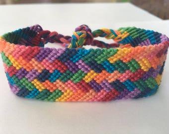Friendship Bracelet: Rainbow Sprinkles