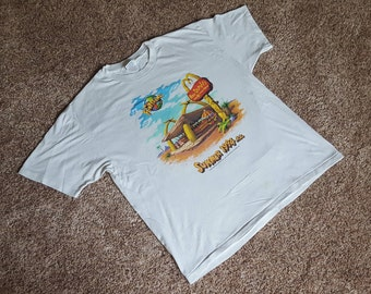 Vintage 1994 Flintstones Movie Promo McDonald's T Shirt