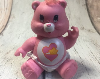 Posable Baby Hugs Bear - 1984 - Care Bear