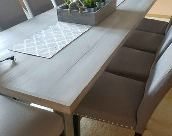 Custom Wood Dining Table- Any Size & Style Available