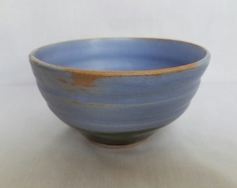 Blue and Green Cereal Bowl