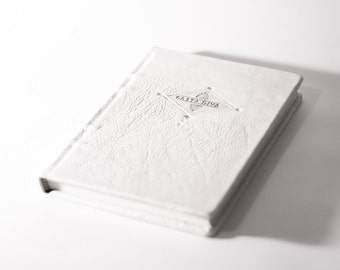 Casta Diva Leather Journal Blank Book Diary