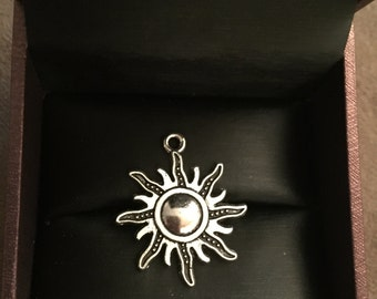Sun Charm Pendant