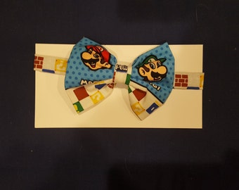 Mario Brothers Bow Tie