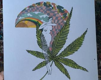 Sweet Leaf (print)